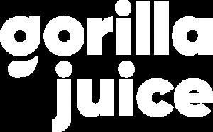 gorilla juice logo white