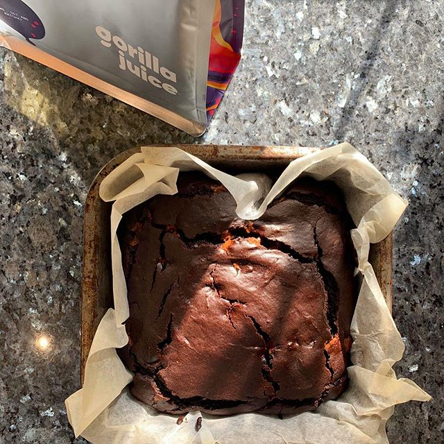 Vegan Protein Brownies – Matcha